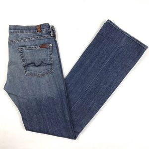 7 For All Mankind Women's Size 29 Bootcut Jeans